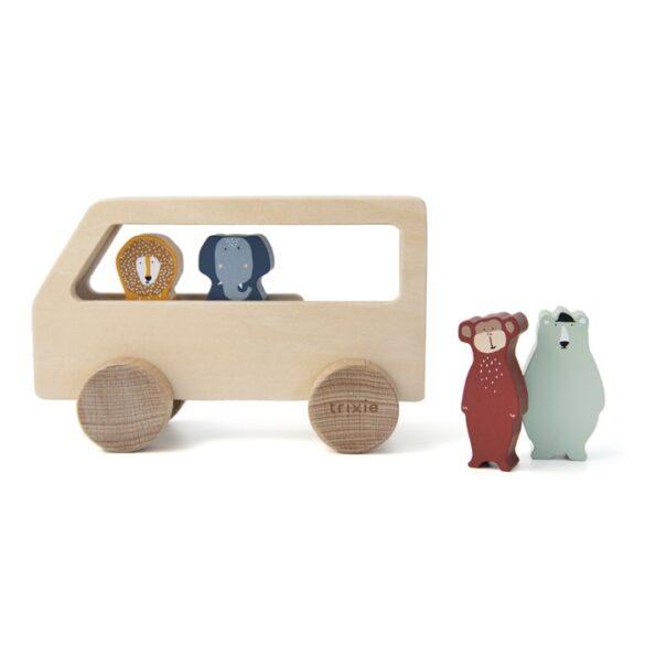 bus animaux bois trixie