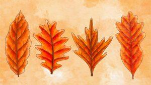 atelier loisirs creatif mobile feuilles automne