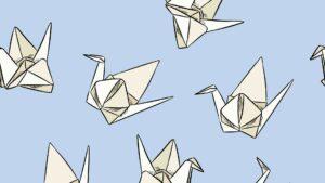 atelier origami grues japonaises