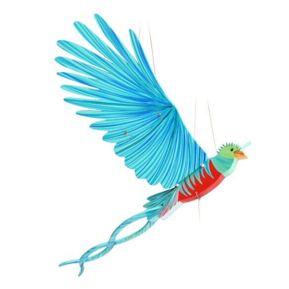 mobile bois artisanal Tulia quetzal