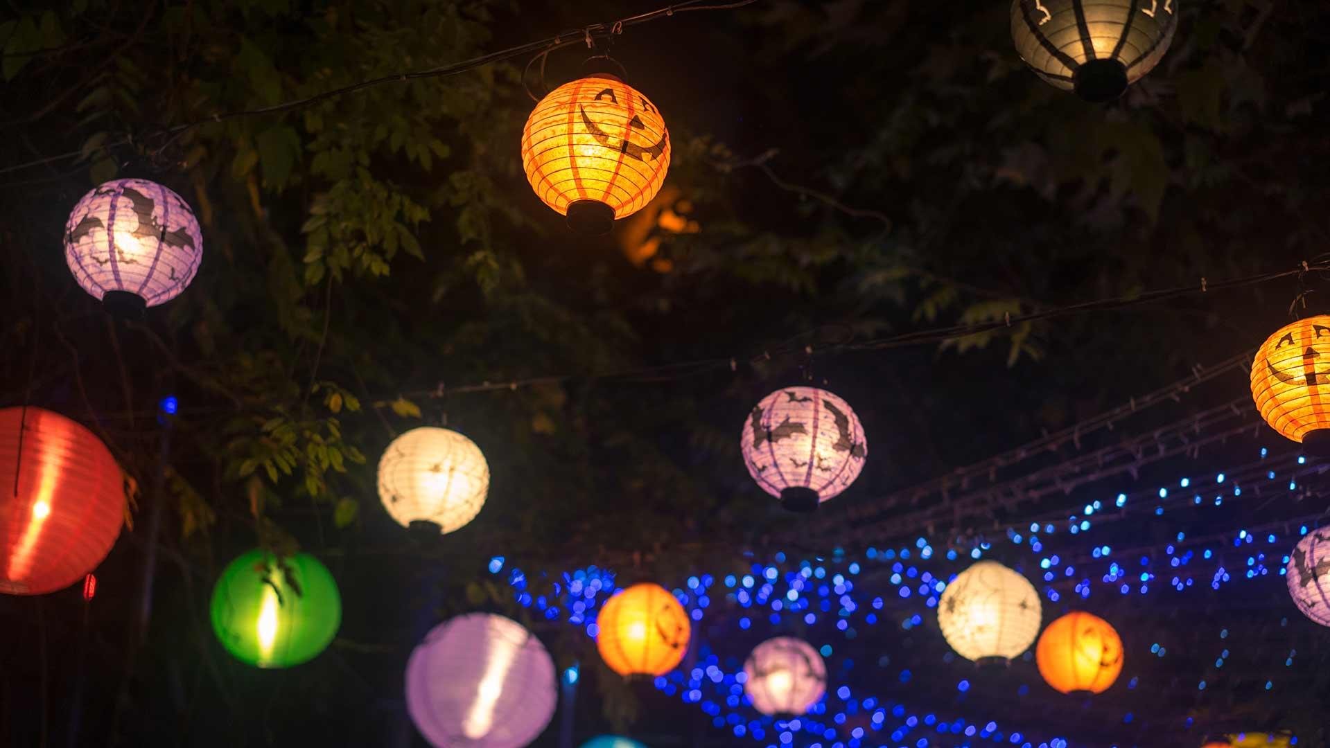 atelier loisirs creatif lampion halloween