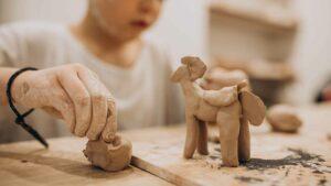 atelier loisirs creatifs argile