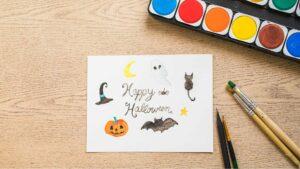 atelier arts plastiques halloween